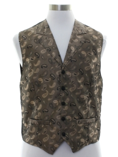1980's Mens Wah Maker Fancy Western Vest