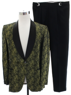 1960's Mens Evening Cocktail Style Tuxedo Suit