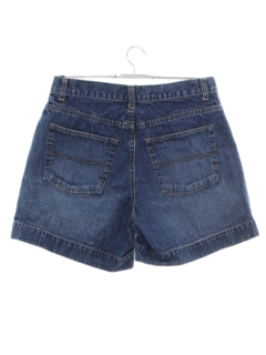1980's Womens High Waist Jeans Style Shorts