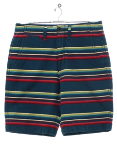 1990's Mens Striped Shorts