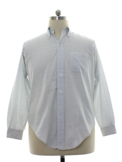 1980's Mens Brooks Brothers Preppy Shirt