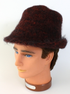 1980's Unisex Accessories - Crocheted Hippie Hat