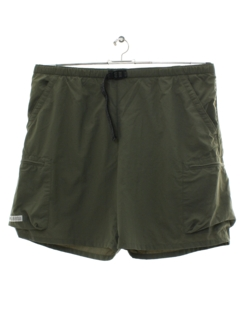 1990's Mens Columbia Sportswear Cargo Swim Shorts