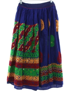 1970's Womens or Girls Hippie Skirt
