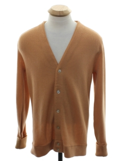 1960's Mens or Boys Mod Cardigan Sweater