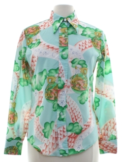 1970's Womens Seventies Shirt
