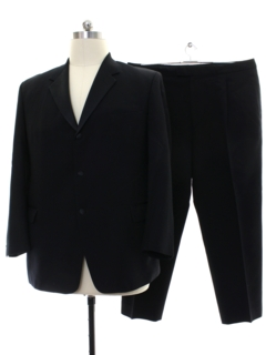 1990's Mens Pierre Cardin Designer Wool Formal Tuxedo Style Suit