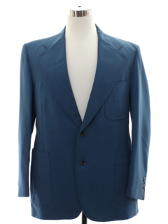 1970's Mens Levis Disco Blazer Sport Coat Jacket