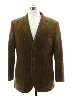 1990's Mens J Peterman Co Corduory Blazer Sport Coat Jacket