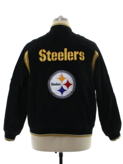 1990's Mens Pittsburgh Steelers NFL Football Jacket
