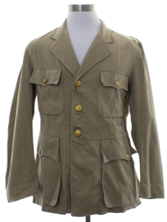 1940's Mens WW2 US Navy Uniform Jacket