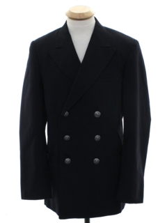 1960's Mens Navy Uniform Jacket