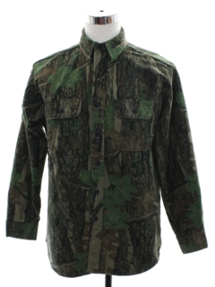 1980's Mens Camo Hunting Jacket