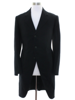 1920's Mens Victorian Morning Coat Jacket and Vest