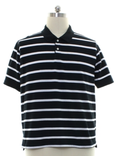 1990's Mens Knit Polo Style Golf Shirt