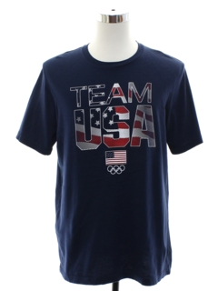 1990's Mens USA Olympic T-Shirt