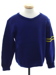 1950's Unisex Wool Cheerleader Sweater