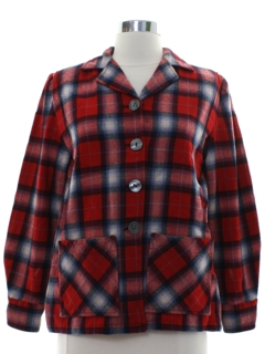 1950's Womens Pendleton 49er Jacket