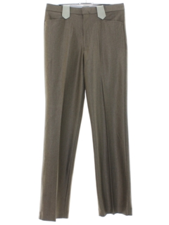 1970's Mens Western Style Flared Leisure Pants