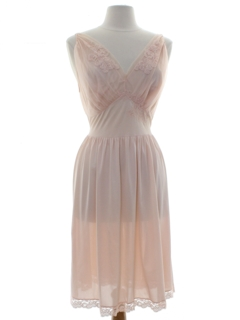 1960's Womens Lingerie - Nightgown