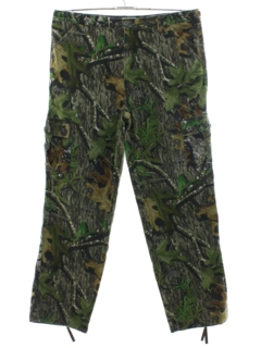 1990's Mens Camoflage Cargo Pants