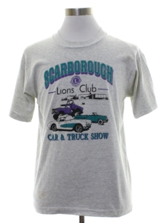 1980's Unisex Single Stitch Car T-shirt