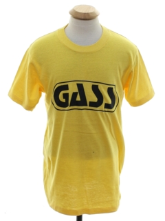 1980's Unisex Totally 80s Single Stitch Gas Station Company T-shirt