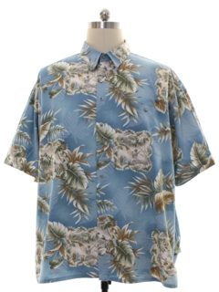 1990's Mens Pierre Cardin Cotton Hawaiian Shirt