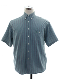 1980's Mens Dockers Preppy Shirt