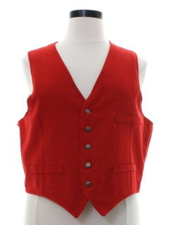 1980's Womens Totally 80s Vest