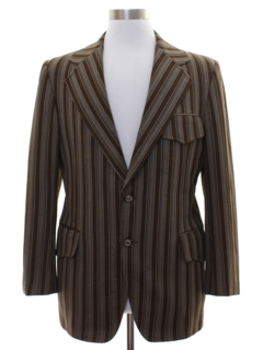 1970's Mens Mod Disco Blazer Sport Coat Jacket