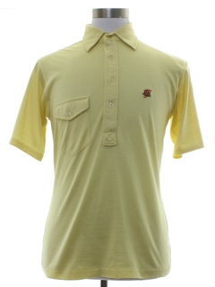 1960's Mens Golf Style Polo Shirt