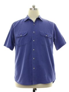 1980's Mens Gap Linen Shirt