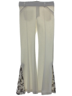 1970's Mens Flared Bellbottom Pants