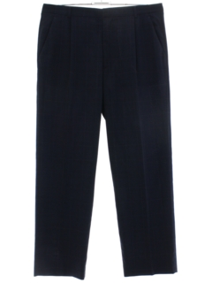 1980's Mens Versace Totally 80s Pleated Slacks Pants
