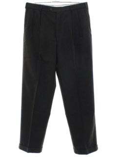 1980's Mens Totally 80s Bill Blass Pleated Slacks Pants