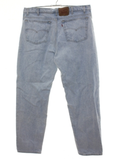 1980's Mens Totally 80s Levis 550 Acid Washed Denim Jeans Pants