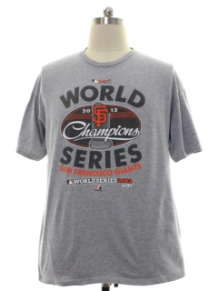 1990's Mens San Francisco Giants Baseball Sports T-Shirt