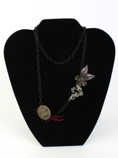 1990's Womens Accessories - Goth Necklace