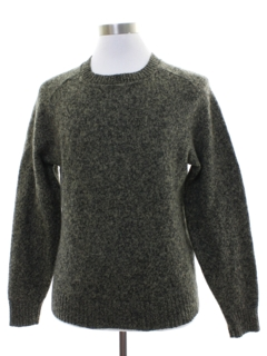 1980's Mens Wool Sweater