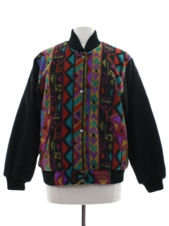 1980's Womens Hippie Reversible Ski Jacket