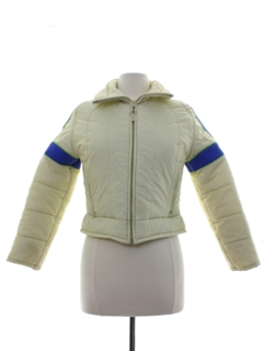 1980's Womens or Girls Ossi Totally 80s Ski Jacket