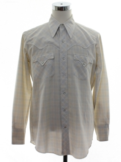 1980's Mens Totally 80s Rodeo Style Western Shirt