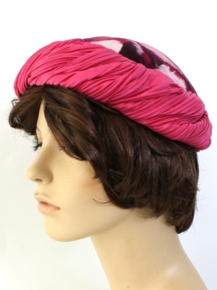 1960's Womens Accessories - Cloche Hat