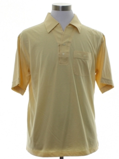 1980's Mens Mervyns Golf Style Polo Shirt