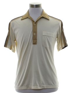 1980's Mens Totally 80s Mervyns Polo Shirt
