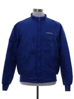1980's Mens Subaru Swingster Racing Jacket
