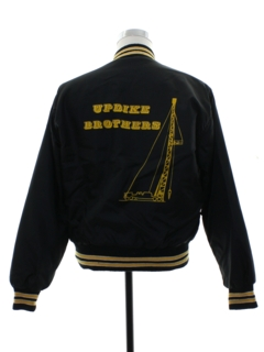1980's Mens Harold/Updike Brothers Work Style Baseball Jacket