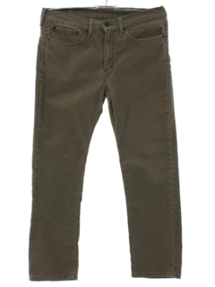1990's Mens Straight Leg Corduroy Pants