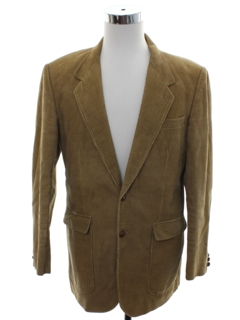 1990's Mens Corduory Blazer Sport Coat Jacket